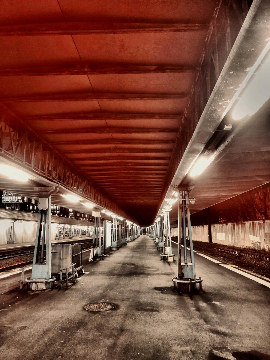 Gare St Lazare Paris 2018