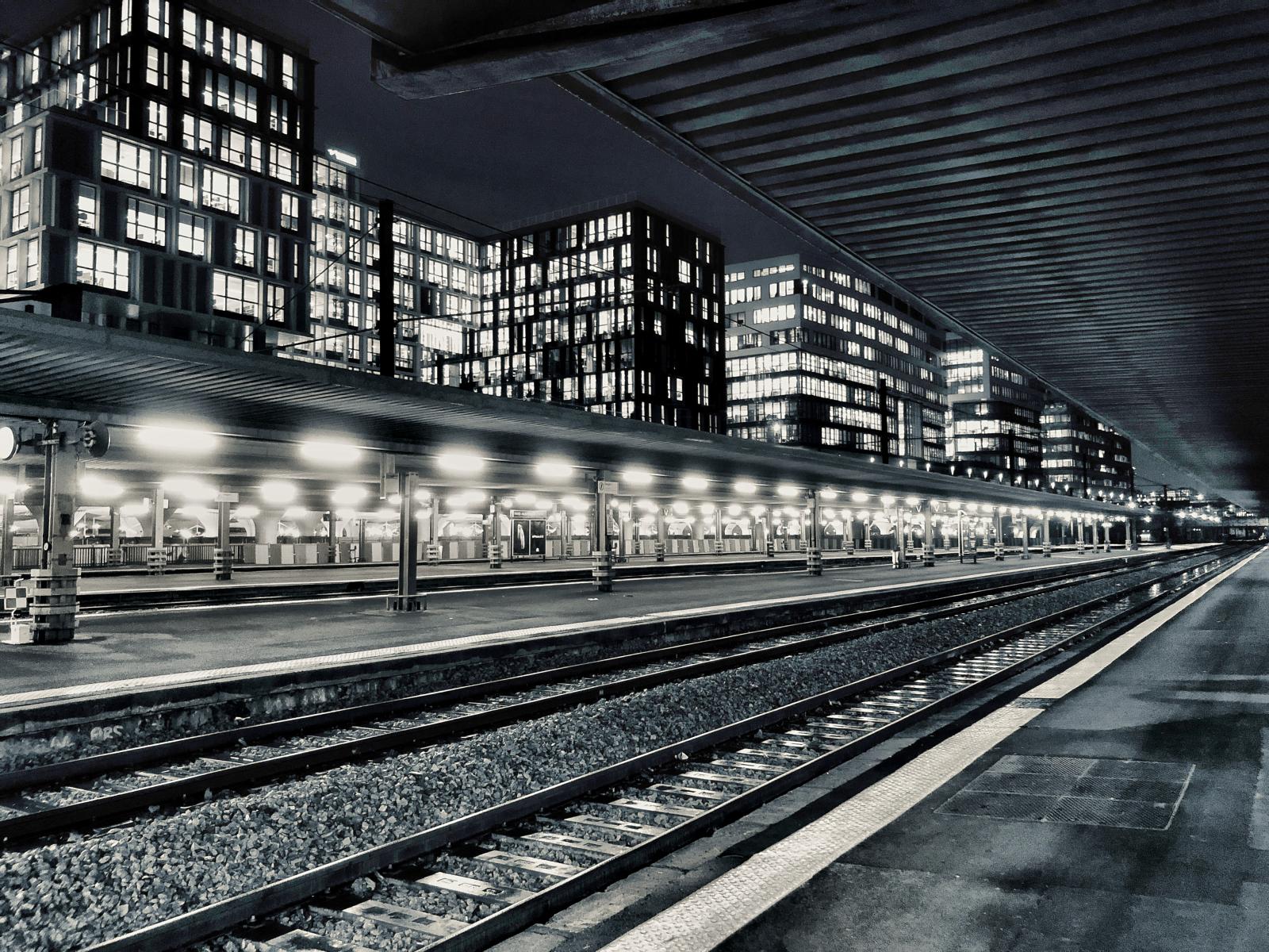 Gare St Lazare Paris