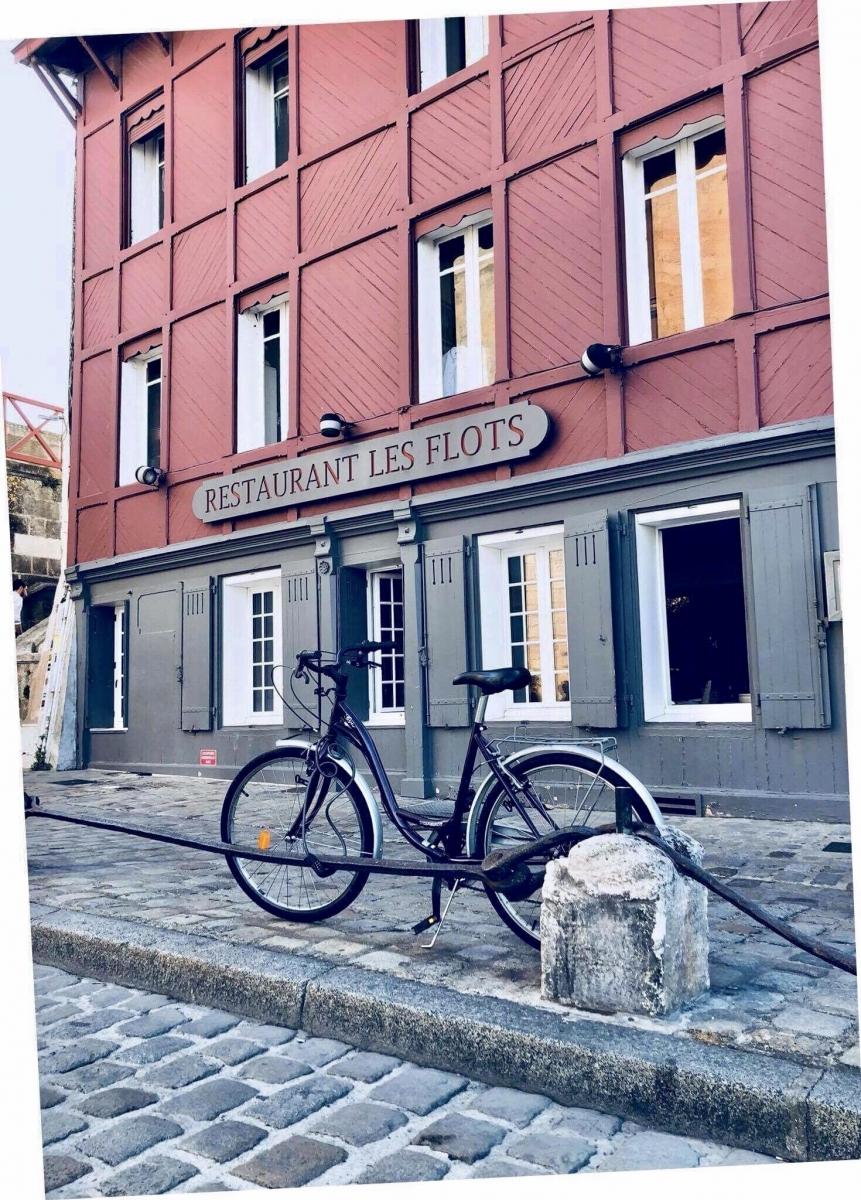 Les flots au vélo