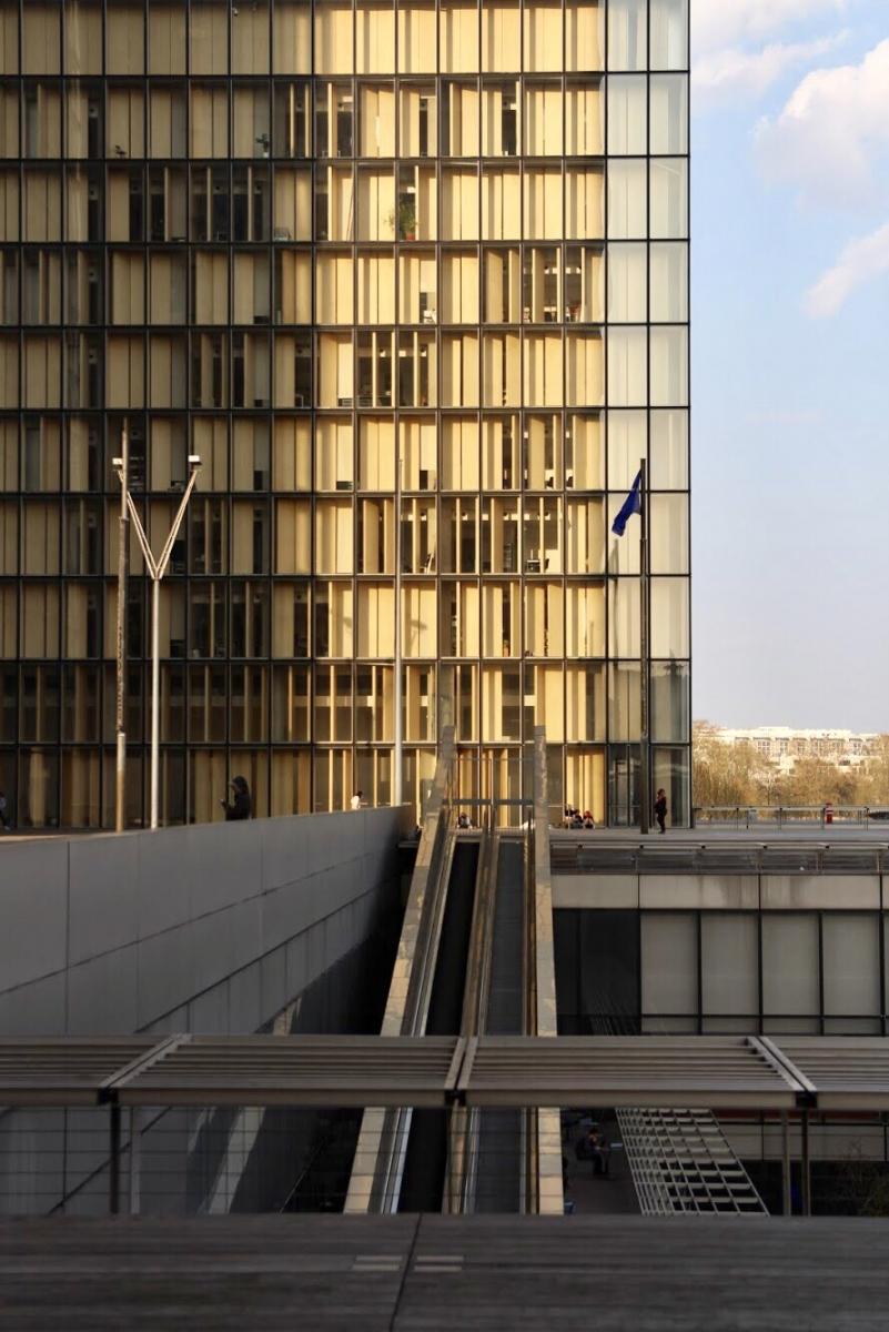 Paris bibliothèque François Mitterrand