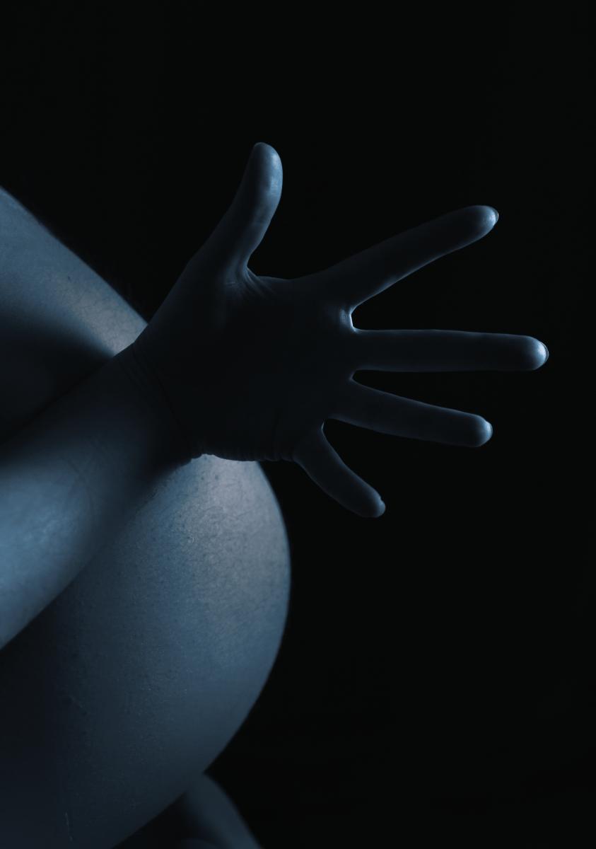 Jean-Marie la main aux fesses