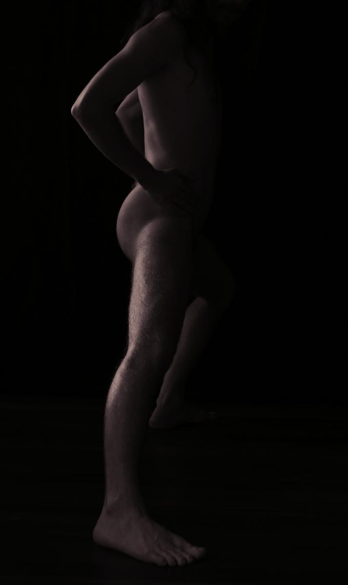 Longueur de jambe anonyme