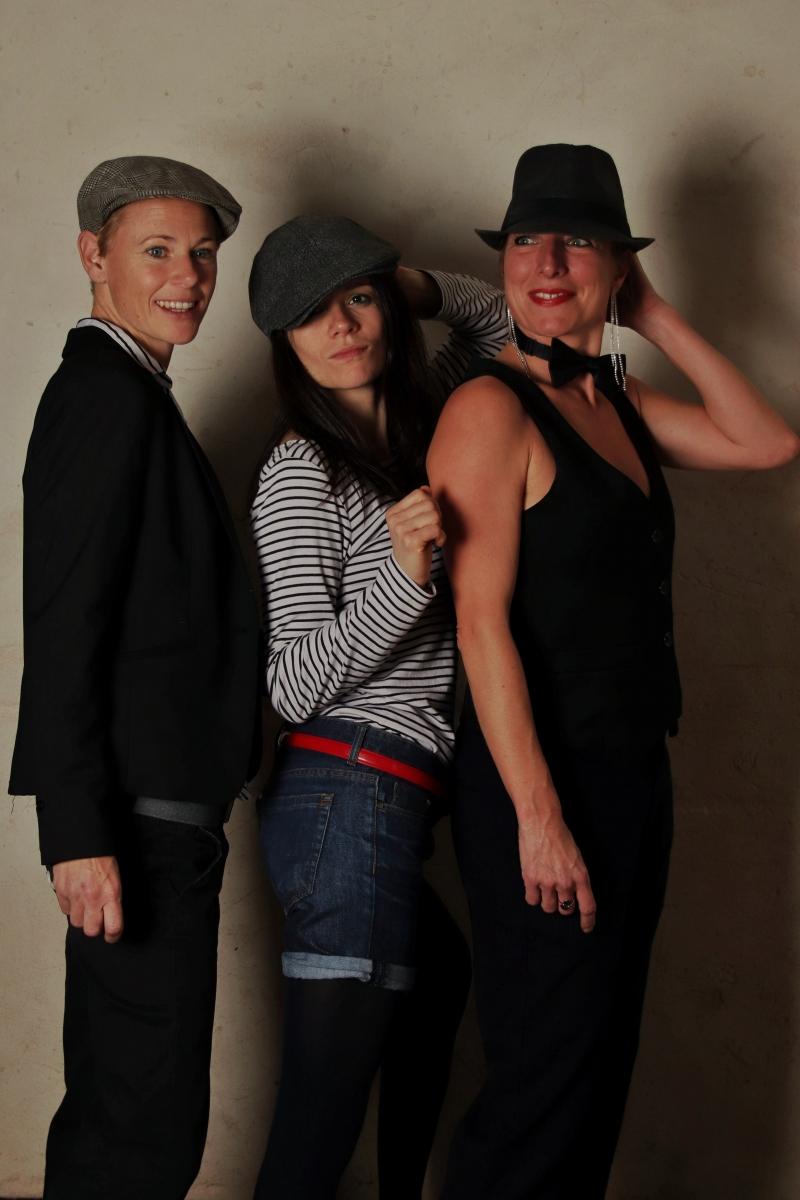 Le trio de femme portrait photo-thérapie
