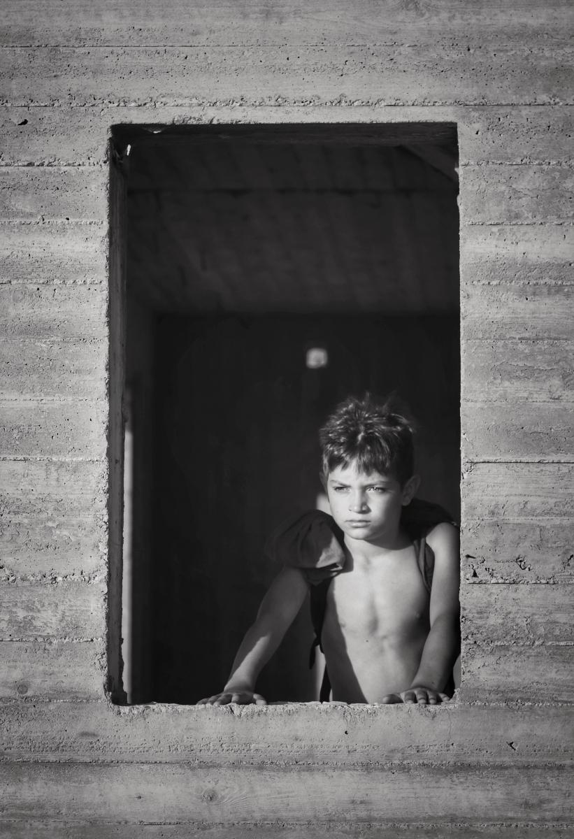 Matteo enfant portrait photo-thérapie