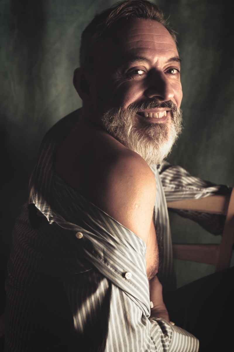 Jean-Marc portrait homme photo-thérapie