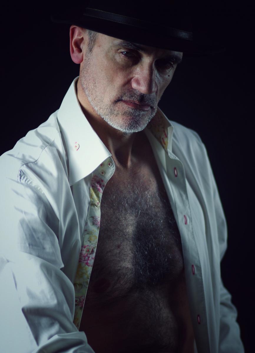 Laurent Courteau modèle homme photo-thérapie