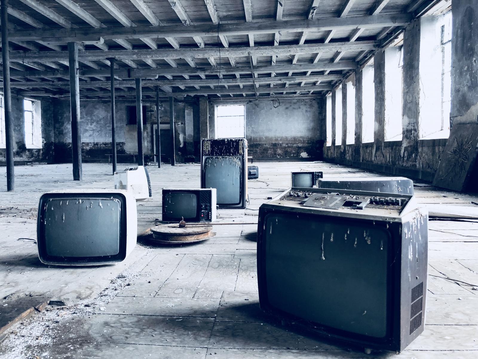 Urbex usine tv