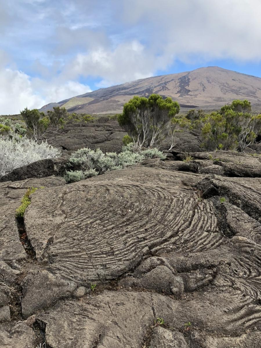 Île de la Réunion volcan
