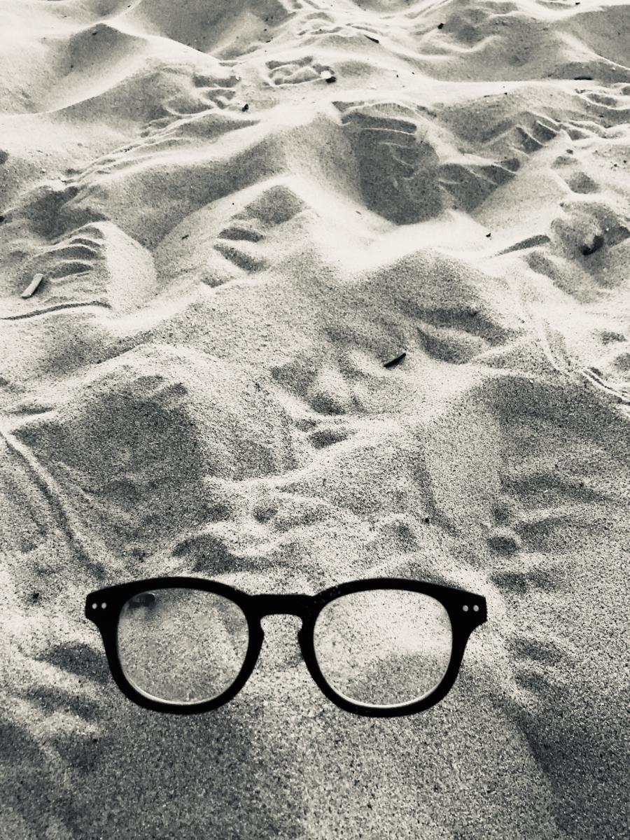 Lunette de sable