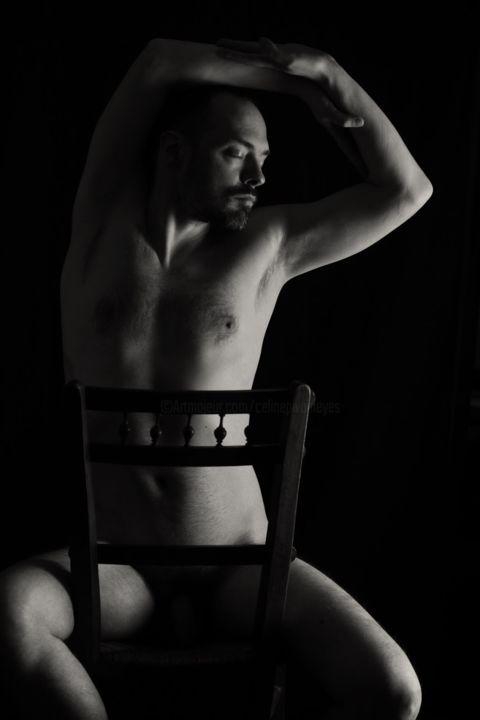 shooting modèle nu masculin artistique photo-thérapie photothérapie